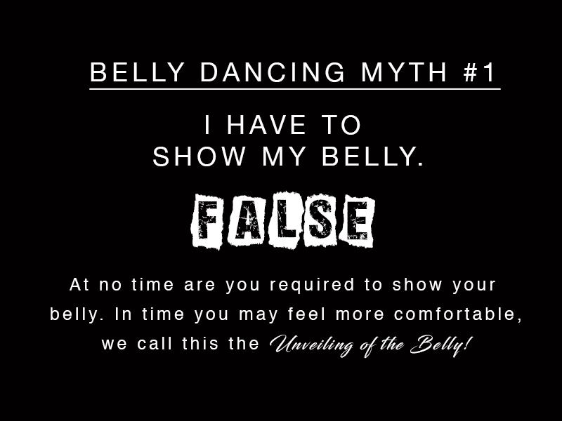 Belly Dancing – MYTH #1